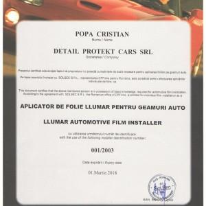 Cristian Popa Aplicator Autorizat Folie Auto