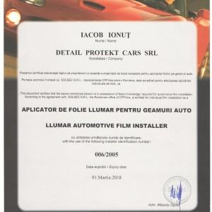 Ionut Iacob Aplicator Autorizat Folie Auto